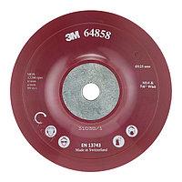 Оправка для фибровых кругов 3M , 125 мм х 22 мм, плоская, M14, (64858)
