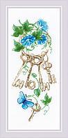 """Набор для вышивания крестом РИОЛИС 1929 """"Ключи к дому"""""""