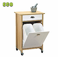 Кухонная тележка с контейнерами для мусора. Kesper. 25508