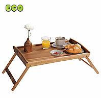 Сервировочный столик-поднос со складными ножками. АКАЦИЯ. KESPER. 28020
