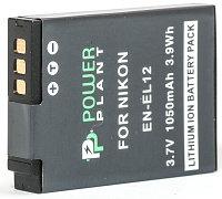 Аккумулятор PowerPlant Nikon EN-EL12 1050mAh