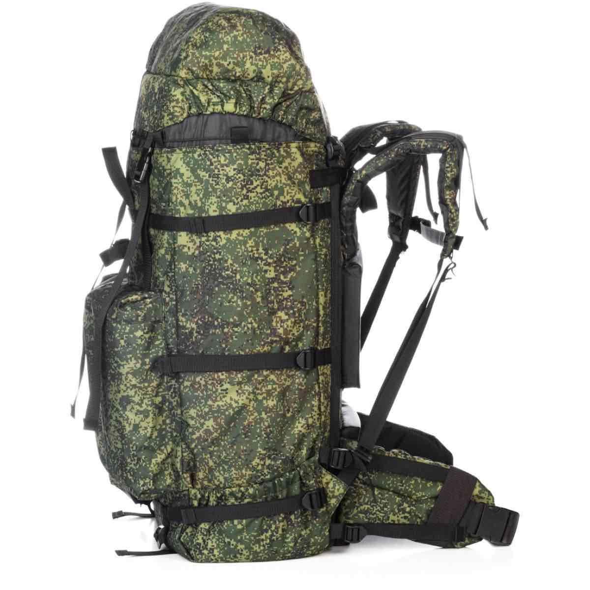 Рюкзак  армейский универсальный 120 л камуфляж (Helios).