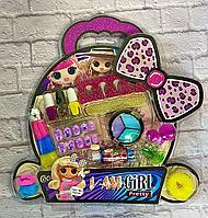 Детский набор для макияжа игровой для девочек