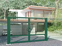 Калитки и ворота для панельных ограждений 3Д