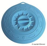 Крышка Silikomart Ø295мм. силикон, голубая, UFO/029F, 72.290.22.0062