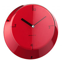 Часы настенные Casa Bugatti Glamour, красные GL3U-02190