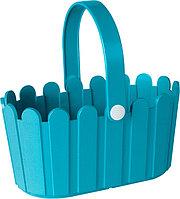 Корзина для цветов 28x18cm голубая LANDHAUS Emsa 513927
