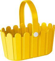 Корзина для цветов 28x18cm желтая LANDHAUS Emsa 513926
