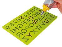Трафарет для букв и цифр Ibili Испания 871300