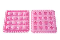 Форма Silikomart 16шт. для мармелада, EC03 Sweet Treats, 22.753.35.0069