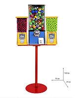 Механический торговый автомат Deervending тройной увеличенный