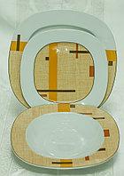 Набор тарелок 6персон 18предметов 29803 LEON