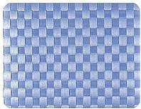 Салфетка подстановочная, 30x41,5см. плетение квадраты, лазурная, Saleen Германия 01011790101