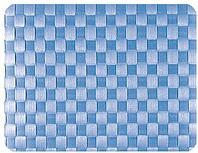 Салфетка подстановочная, 30x41,5см. плетение квадраты, темно-синия, Saleen Германия 01011778101