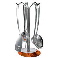 Набор кухонных принадлежностей 6пр. оранжевый Glamour Casa Bugatti GLOU-02160