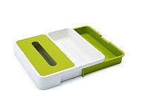 Органайзер кухонный Joseph Joseph DrawerStore , белый/зеленый (85043)