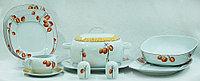 Сервиз столовый 6 персон 25 предметов Чехия 29866 leon