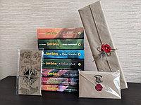 """Чудесный Набор Волшебника """"Комплект книг Гарри Поттер+Волшебная палочка+Письмо из Хогвартса+Карта Мародеров"""""""