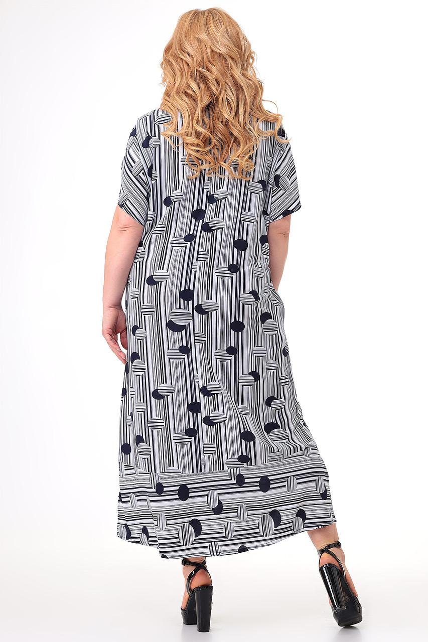 Женское платье больших размеров - фото 2