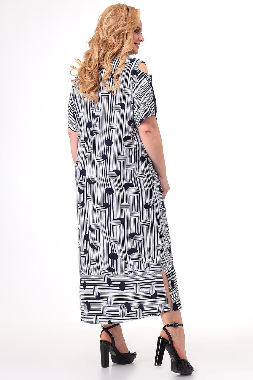Женское платье больших размеров - фото 4