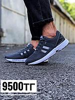 Кроссовки Adidas Zx Flux тем сер 087-4
