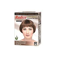 Краска для волос Radico натурального коричневого цвета