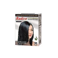 Краска для волос Radico черного цвета