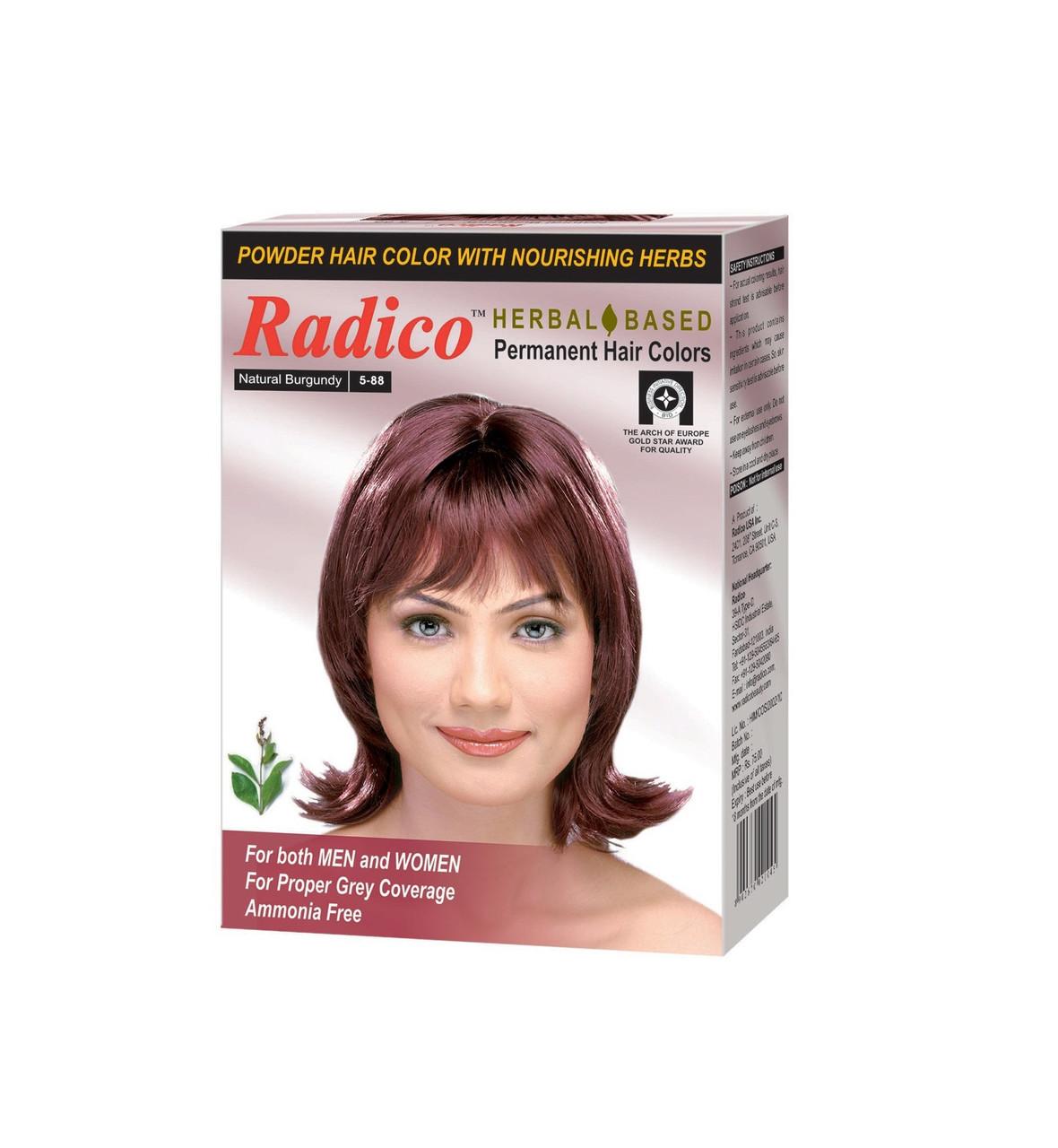 Краска для волос Radico цвет бургунди - фото 1