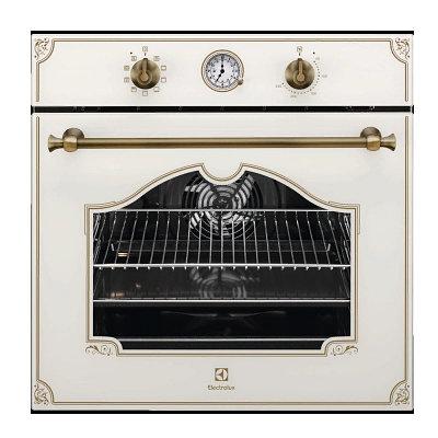 Встраиваемый электрический духовой шкаф Electrolux 600 FLEX SurroundCook Rococo OPEB 2500 V Кремовый
