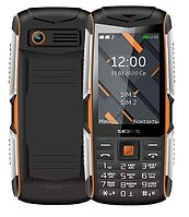 Мобильный телефон Texet TM-D426 черный-оранжевый