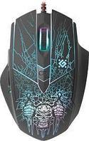 Мышь игровая Defender Doom Fighter GM-260L оптика,6кнопок,800-3200dpi