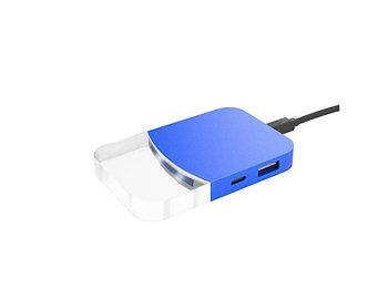 USB хаб Mini iLO Hub, синий