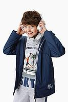 Детская для мальчиков осенняя синяя куртка Bell Bimbo 211370 т.синий 134-68р.