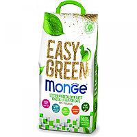 1500 MONGE EASY GREEN, Органический комкующийся наполнитель для кошек, рептилий, грызунов, 10л