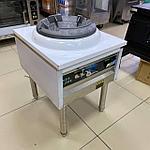 Газовый вок профессиональный с регулировкой вентилятора, фото 2