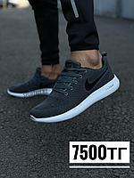 Кроссовки Nike тем сер под надпись