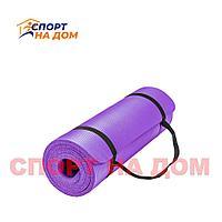Коврик для фитнеса фиолетовый (61*183*1,5 см)