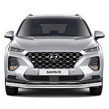 Защита переднего бампера d57 Hyundai SantaFe (2018-2021)