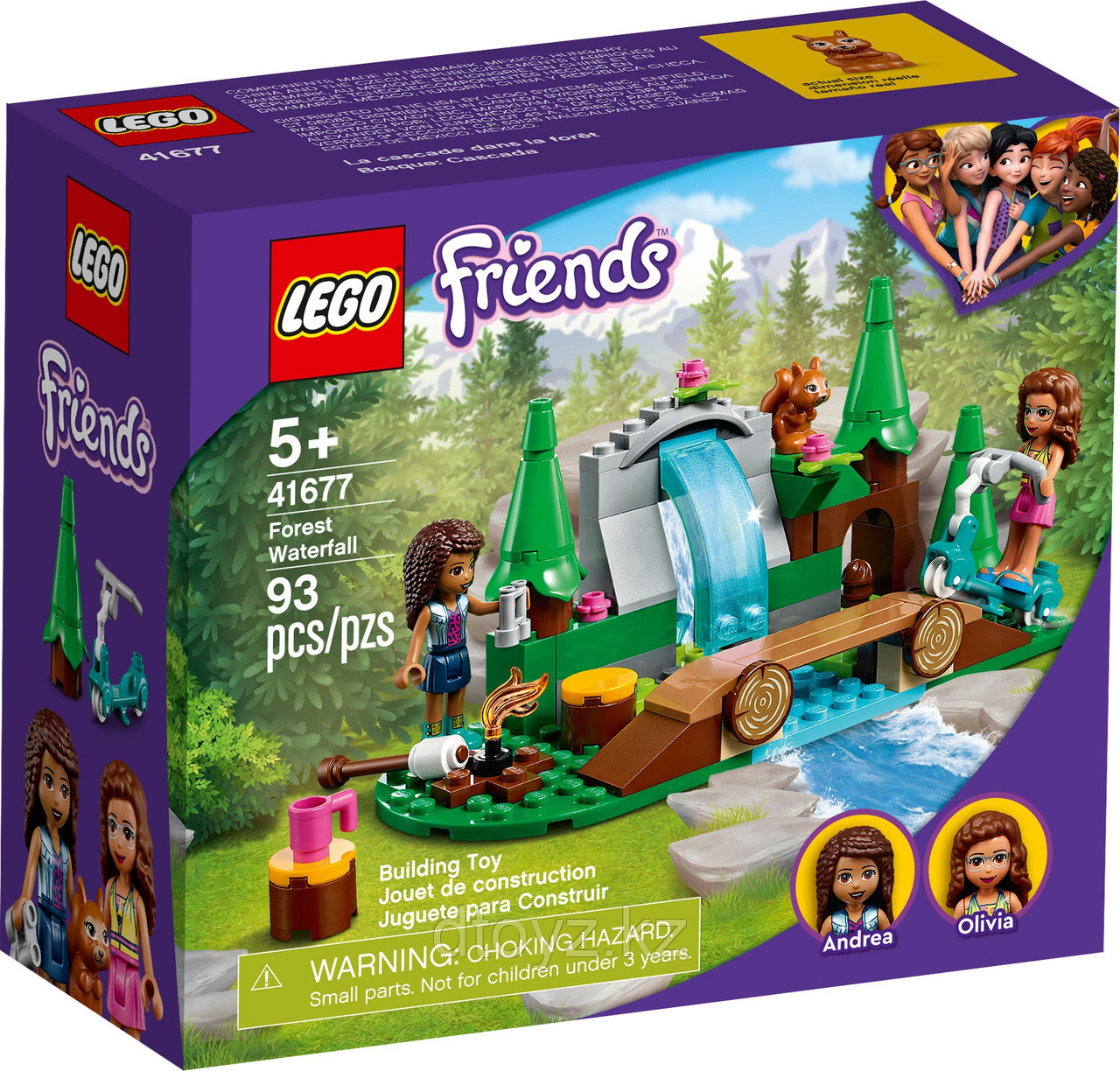 Lego Friends Лесной водопад 41677