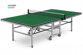 Стол теннисный Start line Leader GREEN