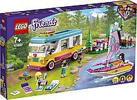Lego Friends Лесной дом на колесах и парусная лодка 41681