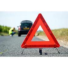 Знак аварийной остановки в кейсе (красный)