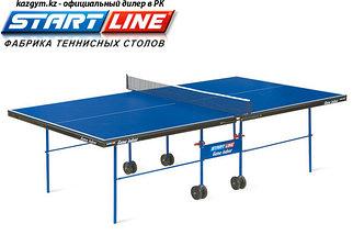 Стол теннисный Start line Game Indoor с сеткой BLUE
