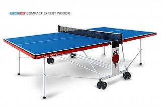 Стол теннисный Start line Compact EXPERT indoor BLUE с сеткой