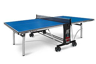 Стол теннисный Start line Top Expert Light BLUE (ЛДСП) с сеткой