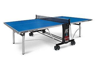 Стол теннисный Start line Top Expert Outdoor BLUE (всепогодный с сеткой)
