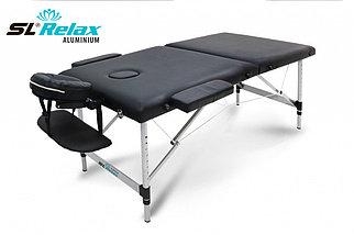 Массажный стол Aluminium (black) Черный