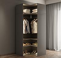 Шкаф для гардеробной угловой (без антресоли)