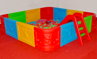 Сухой бассейн детский ZK124-3
