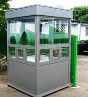 Охранная будка из пластика